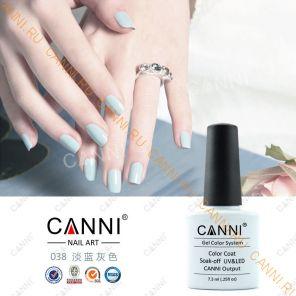 Гель-лак CANNI 038