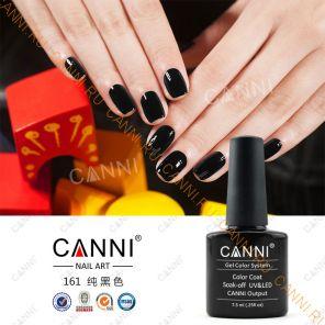 Гель-лак CANNI 161 (черный)