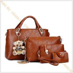 Набор сумок K-04.4 Коричневая