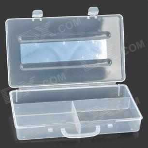 Кейс пластиковый с отделениями R563. 23см х 13см х 4см