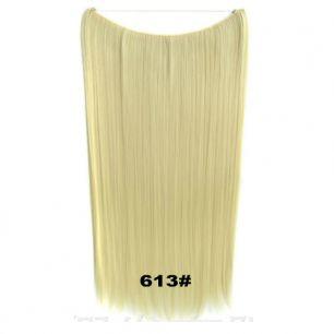 Искусственные термостойкие волосы на леске прямые №613 (60 см) - 100 гр.